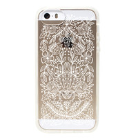 Rifle Paper Co. Clear Floral Lace iPhone 5/ 5S case