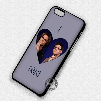 Nerdy People Supernatural - iPhone 7 Plus 6 5 4 Cases & Covers
