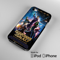 Guardians Of The Galaxy Movie Poster iPhone 4 4S 5 5S 5C 6, iPod Touch 4 5 Cases