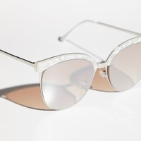 Free People Kyoto Cat Eye Sunnies