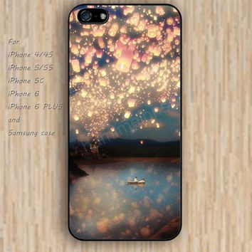 iPhone 6 case dream Night lantern iphone case,ipod case,samsung galaxy case available plastic rubber case waterproof B163