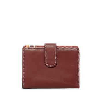 Mywalit Women's Sienna Leather Credit Card Wallet