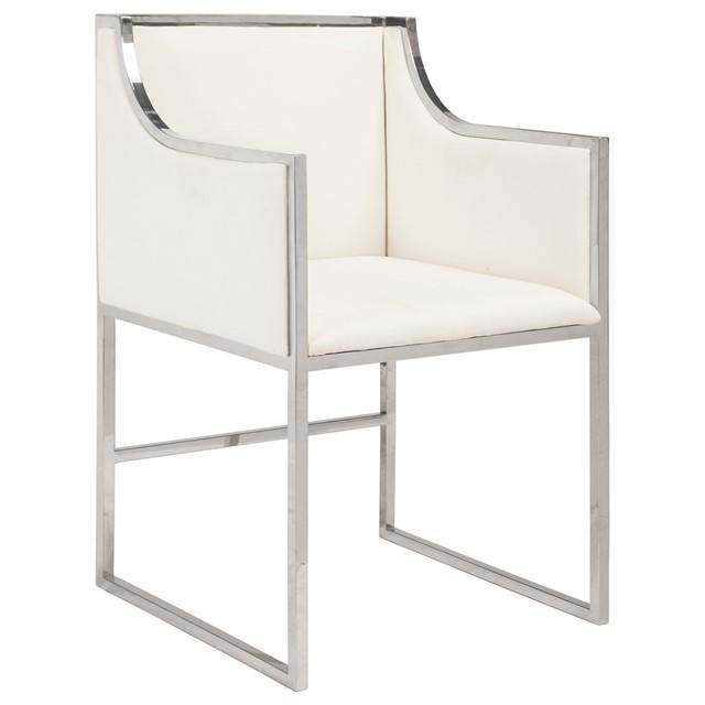 Worlds Away Anabelle Nickel Chair From Layla Grayce Home