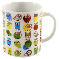One Kings Lane - Gifts for the Design-Lover - Owl Mug, Green