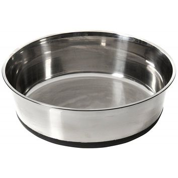 House Of Paws Stainless Steel Dog Bowl With Silicon Base (xl)