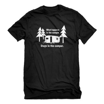 Mens What Happens in the Camper Unisex T-shirt