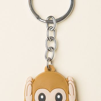 HEAR NO MONKEY KEYCHAIN