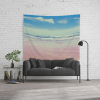 Sea waves 6 Wall Tapestry by vanessagf