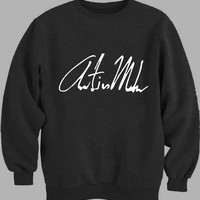 Austin Mahone Signature - COOLFUNNYTSHIRT Sweater for Mens Sweater and Womens Sweater ***