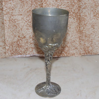 Lovely Vintage Godinger Silver Art Co. Silver Plated Wine Goblet