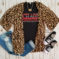 Birmingham Leopard Cardigan - Also in Plus Size