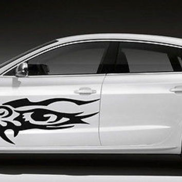 TRIBAL TATTOO EAGLE EYE BIRD CUTE DESIGN CAR VINYL STICKER GRAPHICS G244