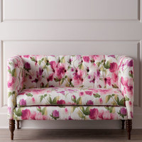 Floral Settee