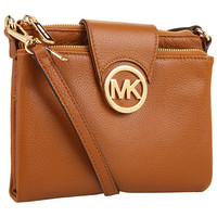 MICHAEL Michael Kors Fulton Large Crossbody Pomegranate - Zappos.com Free Shipping BOTH Ways