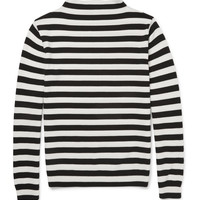Saint Laurent - Striped Merino Wool Sweater | MR PORTER