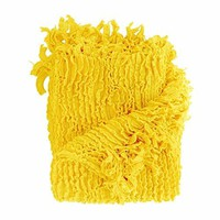 Ben and Jonah Decorative Throw (Yellow)