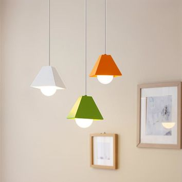 Modern Simple Chromatic Pendant Lights