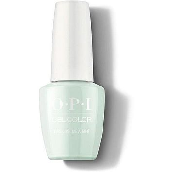 OPI GelColor -  This Cost Me A Mint 0.5 oz - #GCT72