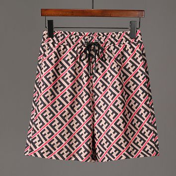 2206 FENDI Beach Shorts Fashion Casual Summer Wear Holiday Vacation