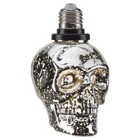 Halloween Skull LED Light Bulb Top Screw 10-pk - Hyde and Eek! Boutique™
