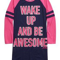 Be Awesome Nightgown | Girls Sleep & Undies New Arrivals | Shop Justice
