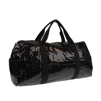 SALE 20% OFF! Darling Sequin Duffle Bags with Name on Strap!