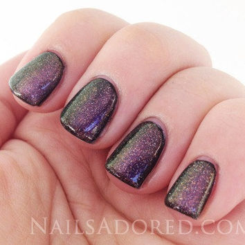 3 of Pentacles from the Year of the Dragon Color Shifting Nail Polish Collection