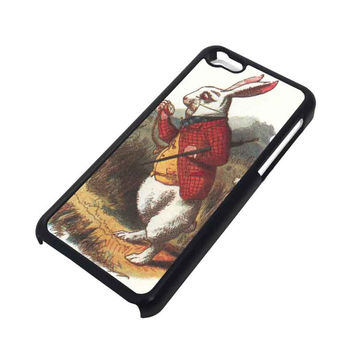 WHITE RABBIT ALICE IN WONDERLAND Disney iPhone 5C Case