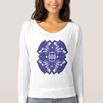 Women's Bella+Canvas Flowy Long Sleeves sacred T-shirt