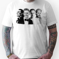 The Many Faces of Tom Hiddleston Unisex T-Shirt