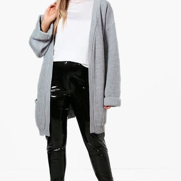 Plus Chunky Oversized Cardigan | Boohoo