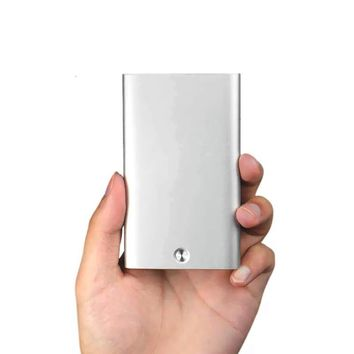 Xiaomi MIIIW Automatic Pop Up Business Card Holder Slim Metal Name Card Credit Card Case Storage Box