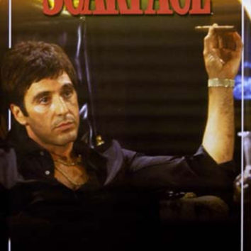Scarface Color Portrait Al Pacino Movie Poster 22x34