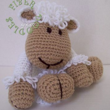 KISS Series Lamb PATTERN by K4TT on Etsy