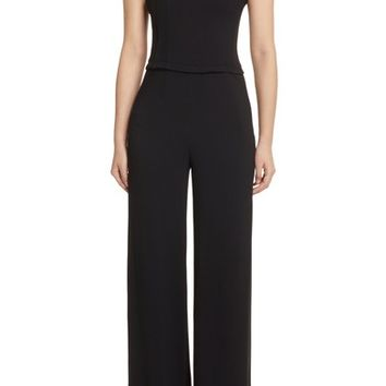Theory Rosina Bustier Crepe Jumpsuit | Nordstrom