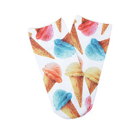 Ice Cream Print Socks