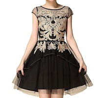 Women's Embroidery Dress Size