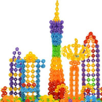 150 Pcs Kid Baby Snowflake Creative Building Plastic First-rate Blocks Toys = 1946326148
