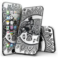 Indian Mandala Elephant - 4-Piece Skin Kit for the iPhone 7 or 7 Plus