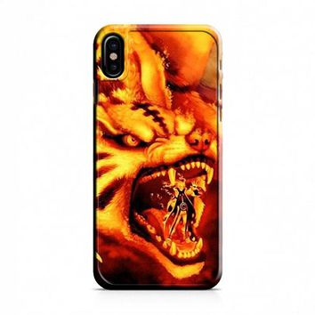 NINE TAILED FOX NARUTO iPhone X Case