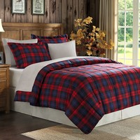 Premier Comfort Maclachlan Plaid Down-Alternative Comforter Set - Full/Queen