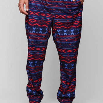 Fair Isle Fleece Pant - Urban Outfitters