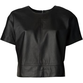 T By Alexander Wang Lightweight Leather Shirt