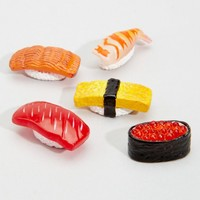 Mini Sushi Magnet Set
