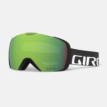Giro - Contact Black Wordmark Snow Goggles / Vivid Emerald + Vivid Infrared Lenses