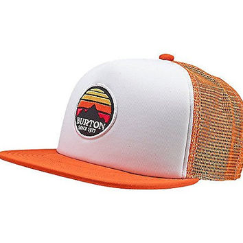 Burton Interstate 80 Snapback Hat - Boy's (Red Clay)