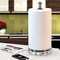 TowlTunes (USB paper towel charger with BlueTooth speakers)