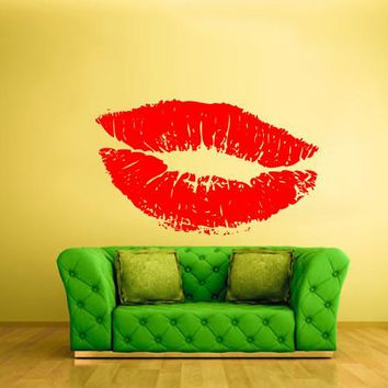 Wall Vinyl Decal Sticker Bedroom Decal Wall Decal Angel Lips Sexy  z295