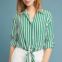 Faithfull Zeus Striped Buttondown