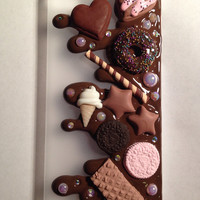 SALE Yummy Sweet Dessert Chocolate Case - Kawaii iPhone 5 Decoden Case